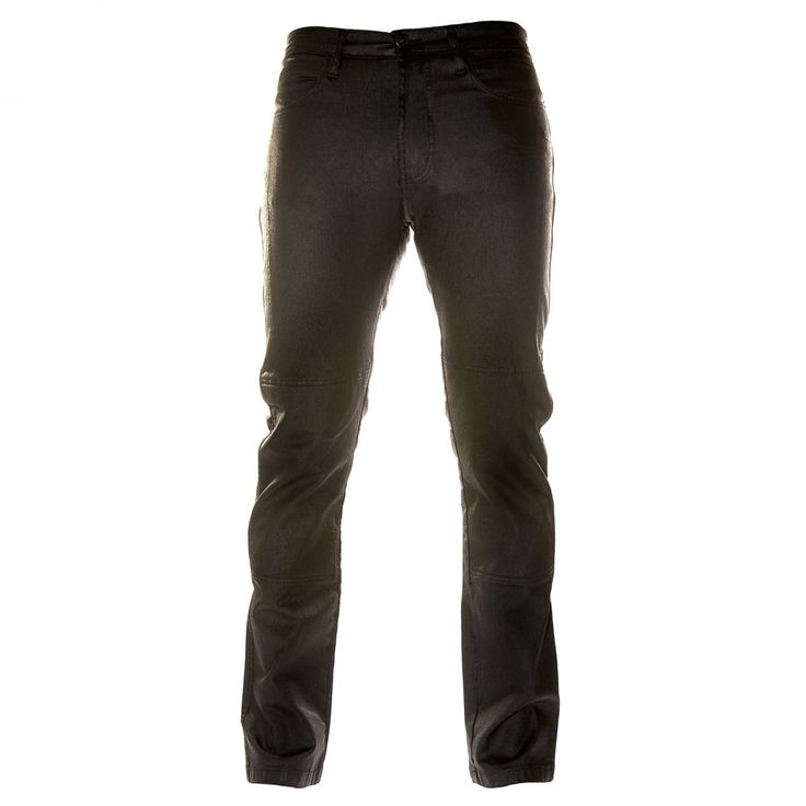 Draggin' Jeans Slix Jeans - £159.99 - Leather look denim motorcycle jeans from The Biker Store.