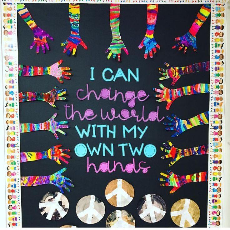 "787 Likes, 19 Comments - TeachersFollowTeachers (@teachersfollowteachers) on Instagram: ""@prekwolfpack Made an awesome tribute #bulletinboard with #stanfordfonts by @mrsstanford724!"""