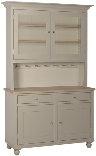 Neptune Suffolk Glazed Rack Dresser, 4ft