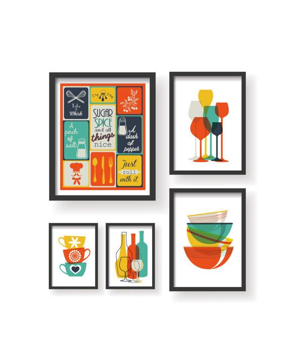 Wall Art For Kitchen 241 best posters, prints, wall art, typography, kitchen poster