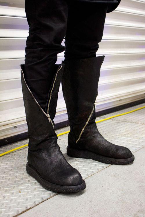 Lizard Skin Ankle Boots Fall/winterRick Owens WSgmR8Z