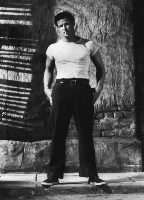 Marlon Brando Style Icon Marlon Brando Pinterest