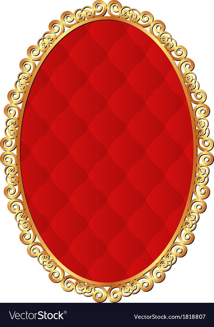 Golden Frame With Red Pattern Inside Download A Free Preview Or High Quality Adobe Illustrator Ai Eps Poster Background Design Frame Banner Background Images