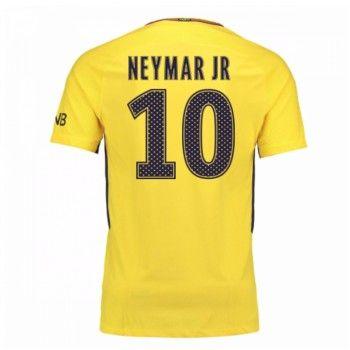 PSG Neymar Jr 10 Bortatröja 17-18 Kortärmad  #Billiga #fotbollströjor