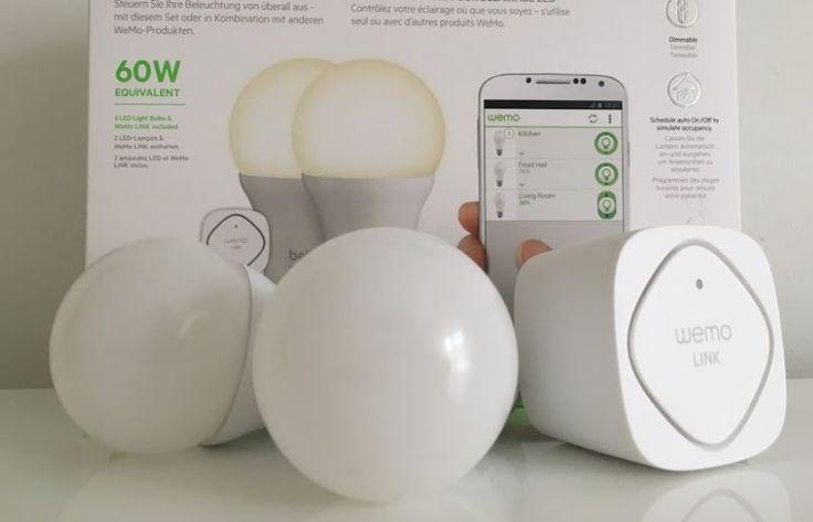Wemo Belkin LED Lampen: Günstige Philips Hue-Alternative? - https://apfeleimer.de/2016/08/wemo-belkin-guenstige-philips-hue-alternative - Smarte Glühbirnen – dasBelkin Wemo LED Light Starterset im Test. ZumThema Hausautomatisierung und Smart Home habe ich mirdas Belkin Wemo Starterset genauer angeschaut.Leider bietet das System von Belkin Wemo – im Gegensatz zum Philips Hue System – leider (noch) keine Apple H...