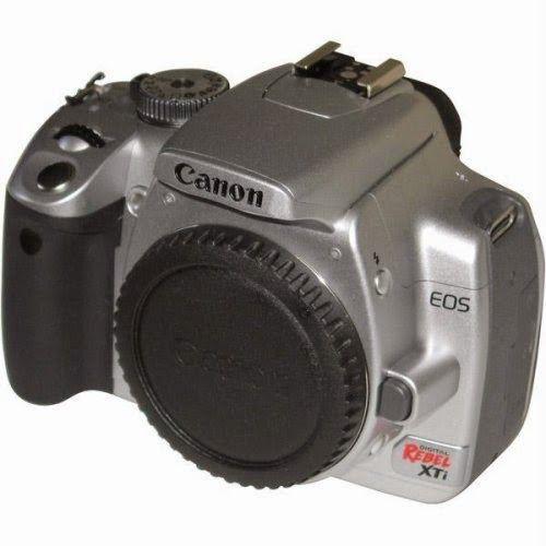 BuyCameraDSLR.com | Canon Digital Rebel XTi 10.1MP Digital SLR Camera (Silver Body Only) (OLD MODEL) | Buy Digital SLR Camera