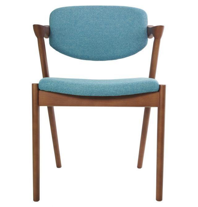 Replica Kai Kristiansen Kai #42 Dining Chair in Fabric