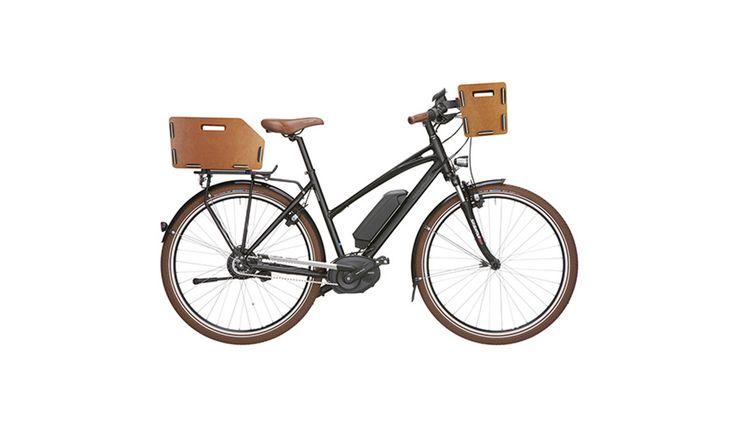 KlickFix Panier vélo 1 - Panier vélo - guidon marron - Boutique de vélos en ligne - bikester.fr