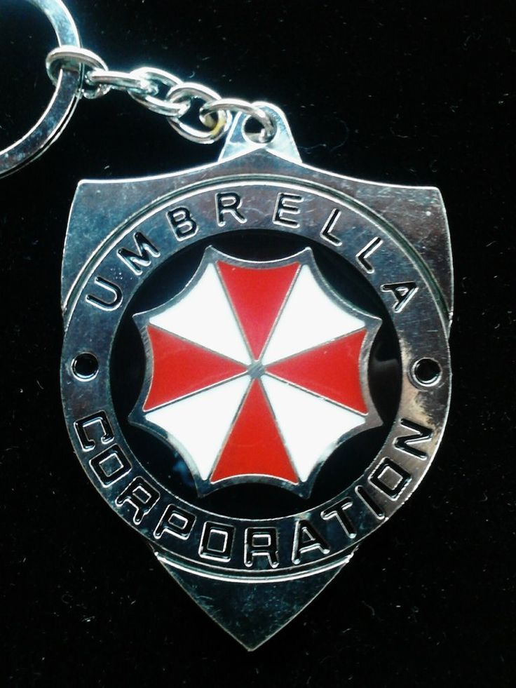 Umbrella Corporation Key Chain