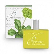 Primaverde illatú Eau De Parfum - Rendeld meg online! Lerbolario Naturkozmetikumok http://lerbolario-naturkozmetikumok.hu/kategoriak/testapolas/parfumok