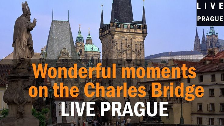Wonderful moments on the Charles Bridge in Prague by Live in Prague