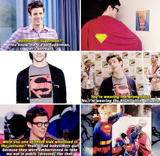 So the Flash loves Superman...that's cool.