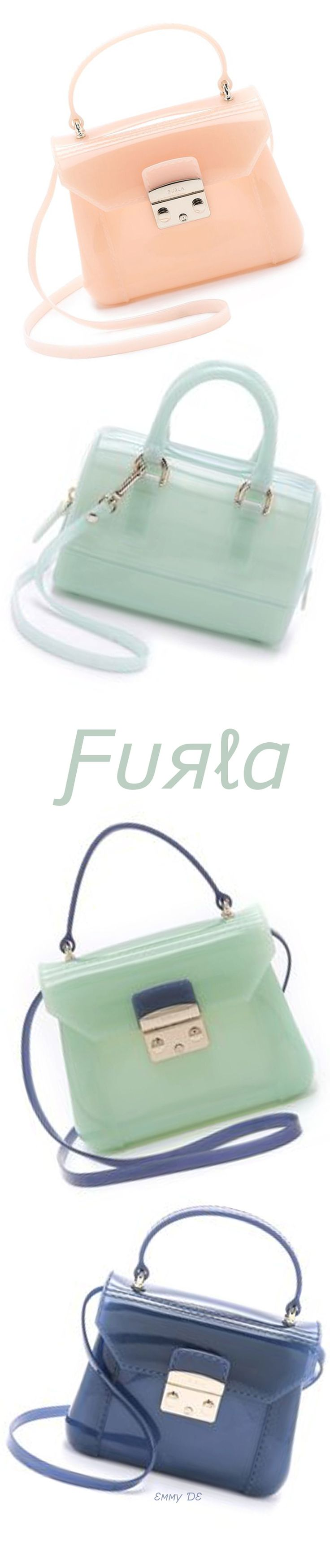 Emmy DE * FURLA Candy Bon Bon Mini Cross Body Bag #Pastels ☮k☮