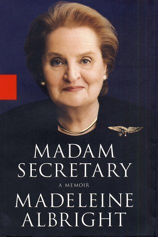 Madeleine Albright 1997 Madeleine Albright is sworn in as U.S. secretary of state. She is the first woman in this position as well as the highest-ranking woman in the United States government.    Read more: Famous Firsts by American Women, 1901–Present | Infoplease.com http://www.infoplease.com/spot/womensfirsts2.html#ixzz2XSPiGrof