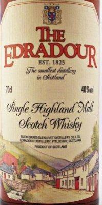Edradour Single Malt Scotch Whisky - Single Malt Scotch Whisky - Label details