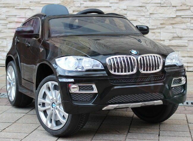 Novinky 2017!!! | BMW X6 - elektrické autíčko čierna metalíza LUXURY | Bábätkovo.eu