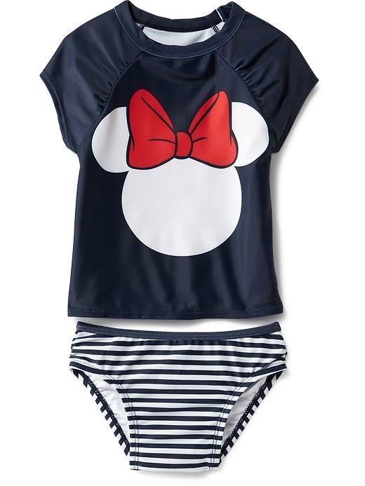 64827ea6907b2 Disney© Minnie Swim Sets for Baby | Harper | Baby, Disney baby clothes,  Baby girl fashion