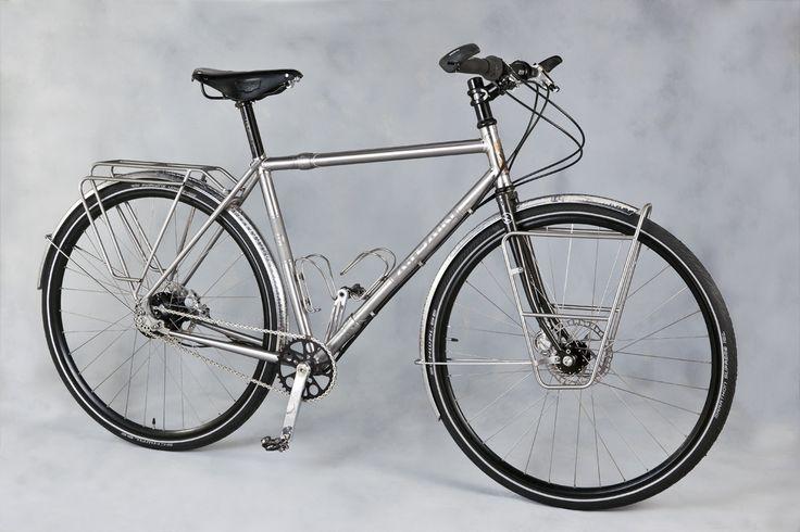 stainless touring bike