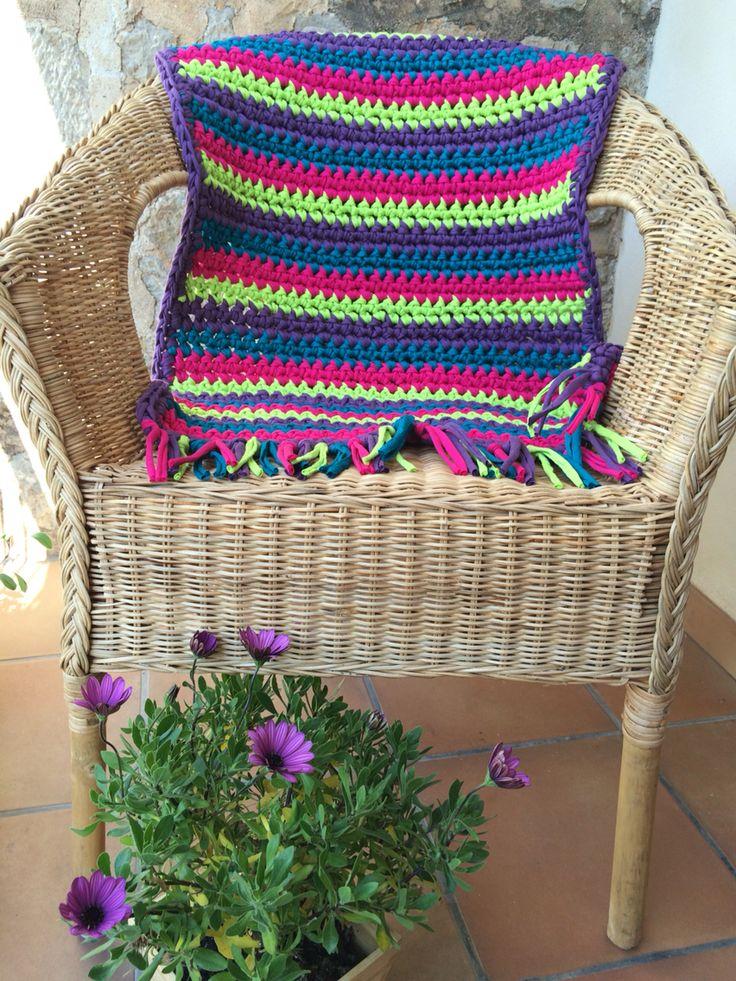 Crochet rug  50 cm 35€