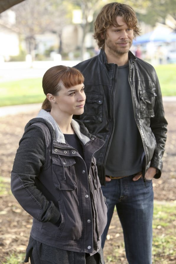 Season 5 Episode 20 Photos - NCIS Los Angeles... Kensi's back but Nell's in the field with Deeks? Say what? But happy she's out in the field!