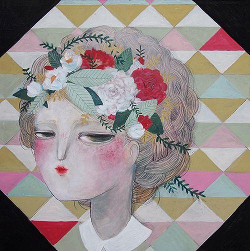 Paintings - La Nonette