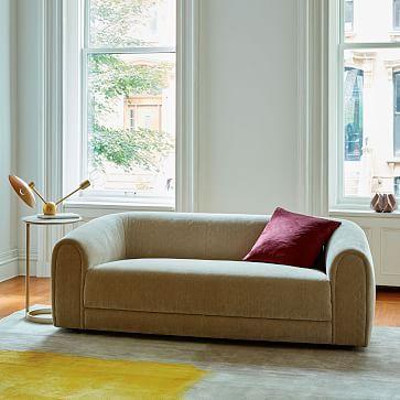 Sydney Sofa Quilted Velvet Champagne Modern Home FurnitureFurniture SaleFurniture