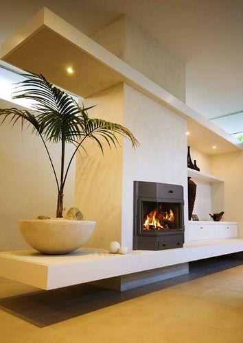 Best 20 fireplace inserts ideas on pinterest wood - Chimeneas minimalistas ...