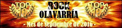 Rock Nacional en tu Idioma - Olavarría: TOP 10 Rock Nacional en tu Idioma Olavarría - Sept...