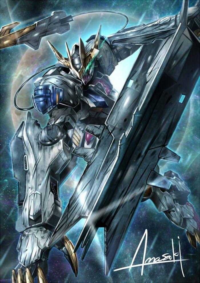 A高达设定 by 常毅恒 Gundam wallpapers, Gundam iron blooded