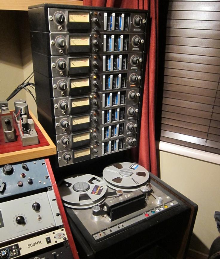 Ampex 440 B Analog 1 Quot 8 Track Recording Studio Home