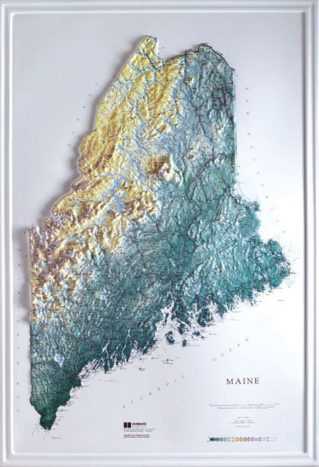 Best Raised Relief Images On Pinterest British Columbia - Us raised relief topographical map