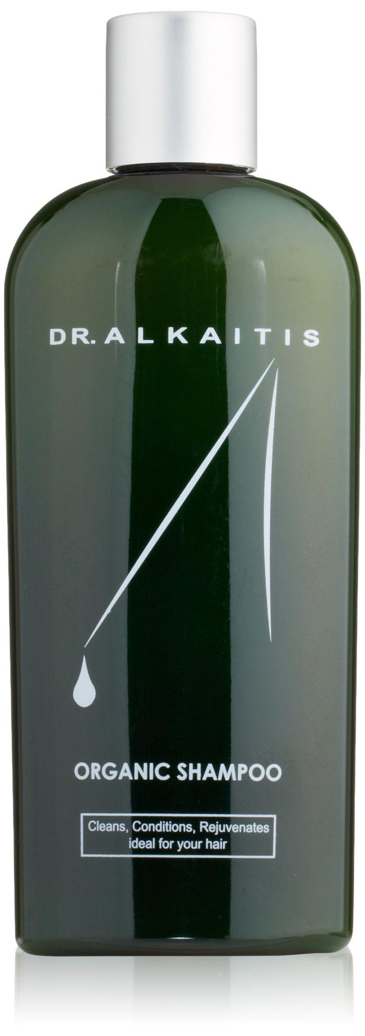 DR. ALKAITIS Organic Herbal Shampoo, 8 fl. oz.