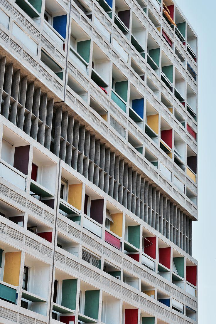 La Cité radieuse, de Le Corbusier