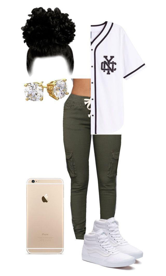 """Untitled #15"" by trillesttay ❤ liked on Polyvore featuring Vans"