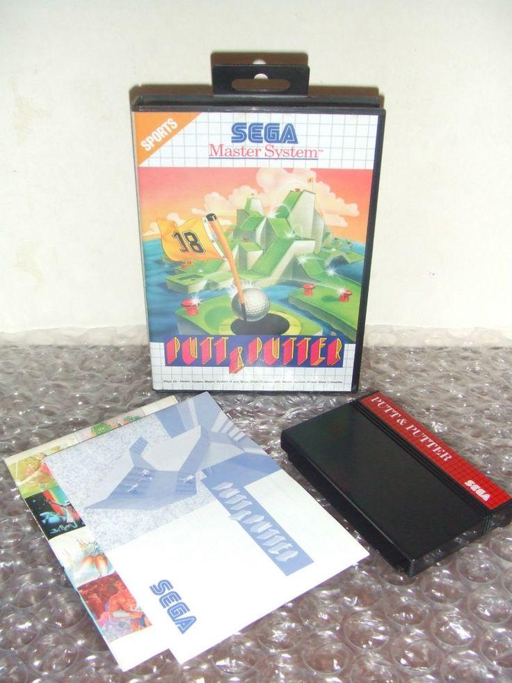 PUTT & PUTTER - SEGA Master System - PAL - Come Nuovo