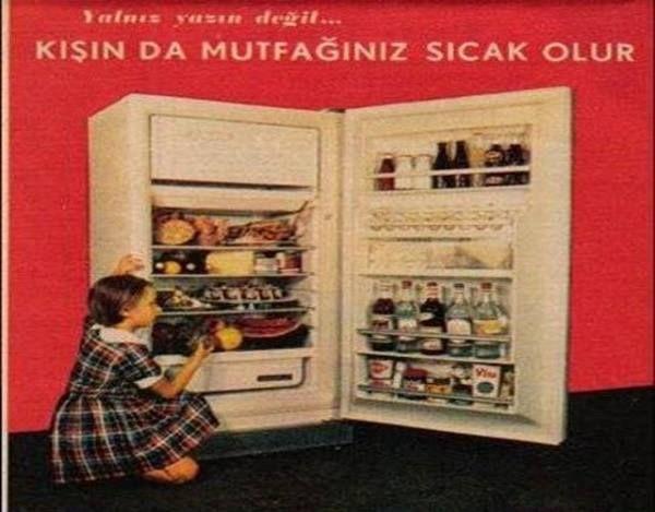 Türkiye'de ilk yerli buzdolabı kaç yılında üretildi biliyor musunuz?