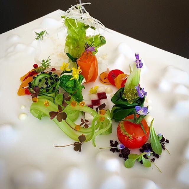 Tadashi Takayama Plating Techniques Ideas Food Presentation Design Plates Art Inspiration