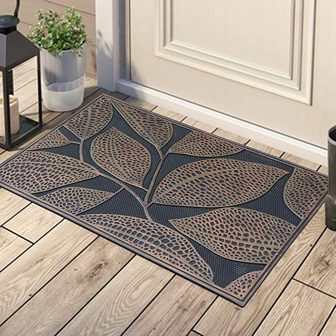 Amazon Com A1 Home Collections A1hcrb6126 Wildflower Garden Rubber Pin Doormat 18 X 30 Wild Flowers Garden Dog Door Mat Rubber Door Mat Front Door Mats