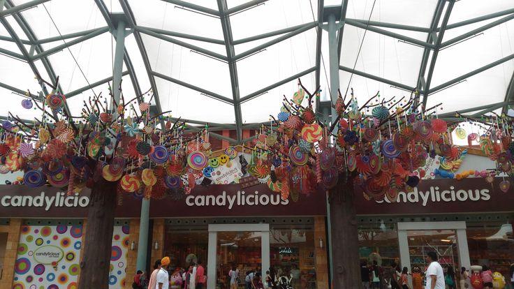 Магазин сладостей на Сентозе