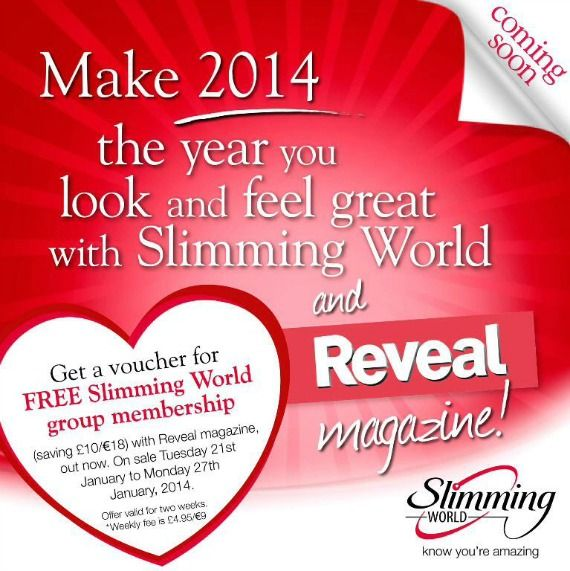 Free voucher for Slimming World.