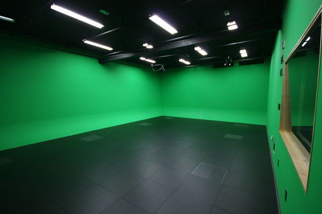 SFU Surrey's Professional Video Production Room
