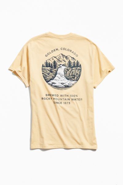 30be2df0b Coors Golden Colorado Tee | Shirts | Graphic tees, Tees, Mens tops