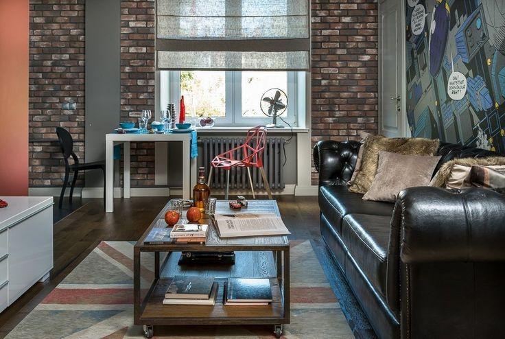 Проект этой квартиры создавался для холостяка, но в процессе ремонта хозяин женился... http://qoo.by/rlO