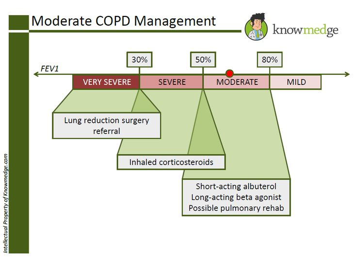 ABIM Internal Medicine Exam Review: COPD Management (www.knowmedge.com)