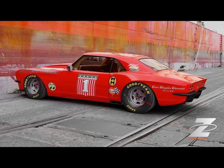 Bo Zolland Design Pro-Touring Mustang | Cars | Pinterest ...