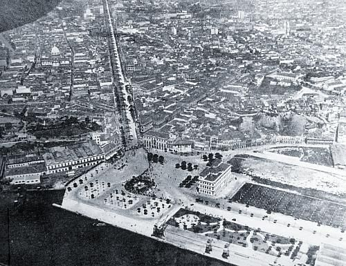 Praça Mauá – 1920
