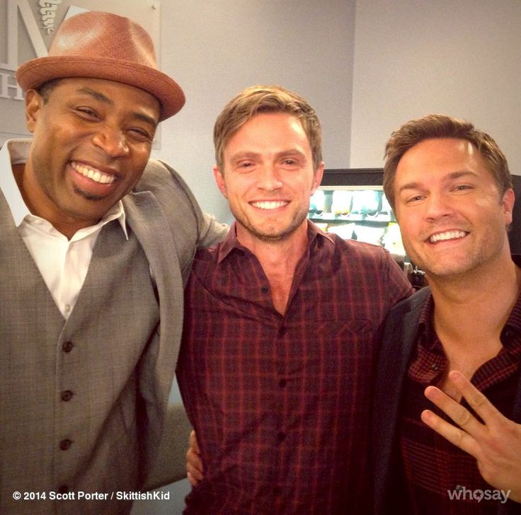 And that's a wrap on the #3Amigos. Love these dudes. Proud of these dudes. #TearsWereShed #RealMenCry  - Scott Porter, Wilson Bethel & Cress Williams