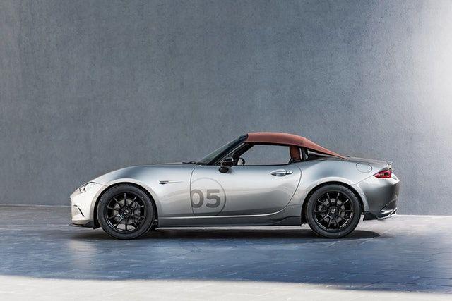 Mazda MX-5 Speedster and MX-5 Spyder Concepts | Mazda mx, Mazda and ...