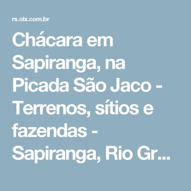 Chácara em Sapiranga, na Picada São Jaco - Terrenos, sítios e fazendas - Sapiranga, Rio Grande do Sul | OLX