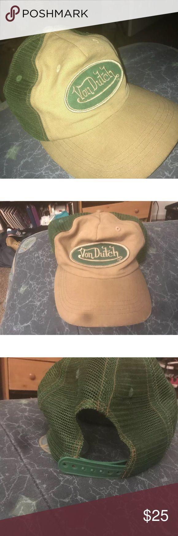 Von Dutch Vintage Trucker Hat Pre owned  Good condition 25 or best offer Christian Audigier Other